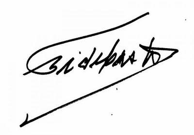 Firma Fidel Castro