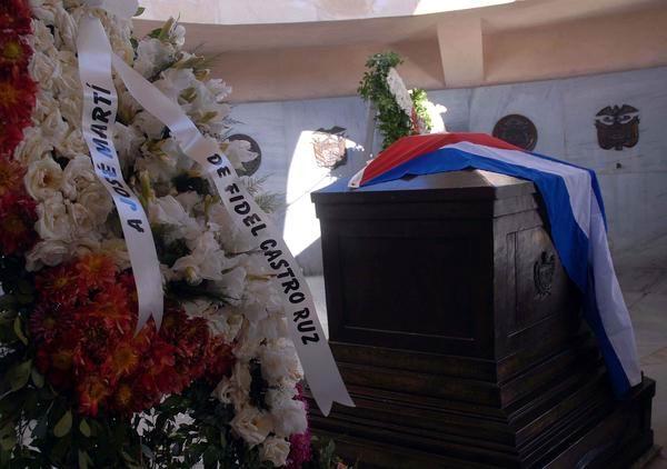 Custodiará cementerio santiaguero los restos del máximo líder cubano
