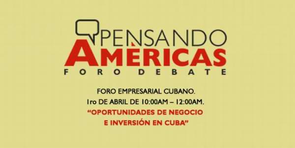 Convocan a foro empresarial cubano
