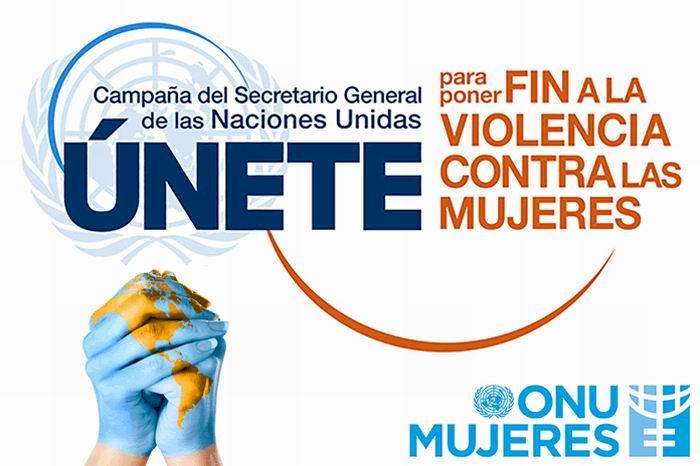 Campaña ÚNETE para poner fin a la violencia hacia las mujeres y las niñas, que lidera el Secretario General de las Naciones Unidas, Ban Ki-moon.