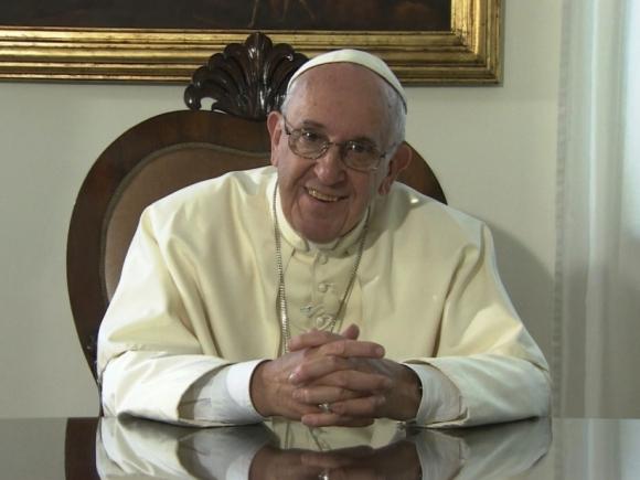 Videomensaje del Papa Francisco al pueblo cubano. Foto: Minrex