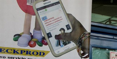 TRD Caribe Store Chain Application for Checking local prices via Cell Phone