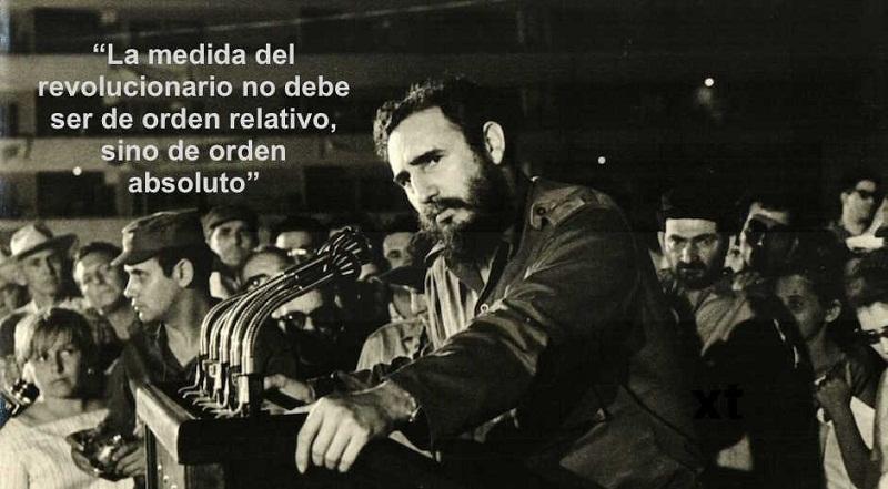 Frase de Fidel