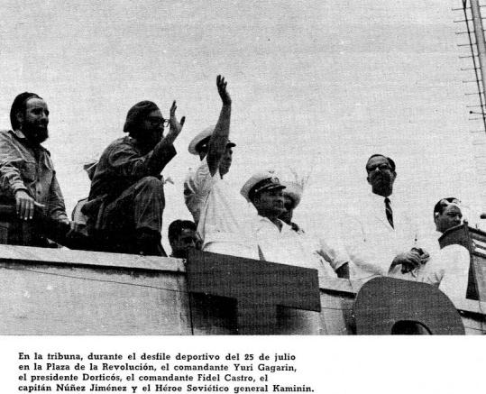 1962: El deporte y los líderes de la Revolución (+Audio)
