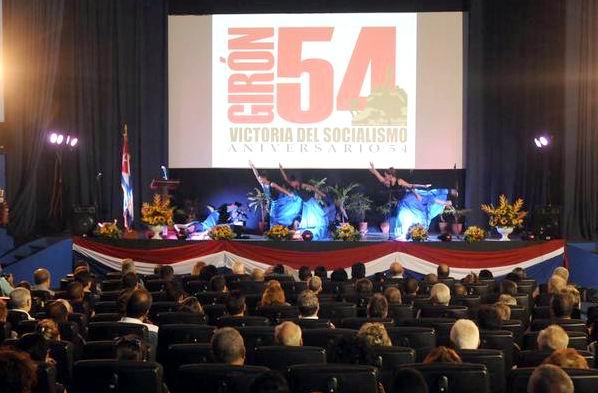 Recuerdan en La Habana aniversario 54 de la Victoria de Gir�n