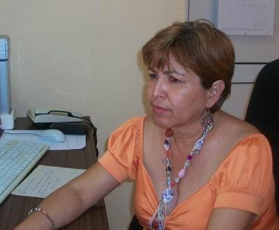 Secretaria General del Comité Provincial de la Central de Trabajadores de Cuba (CTC) en Cienfuegos, Gisela María Duarte Vázquez