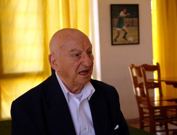 Giustino Di Celmo, veterano de la Segunda Guerra Mundial