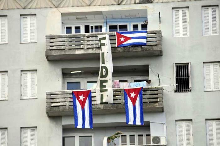 Fidel se multiplica. Foto: Juvenal Balán