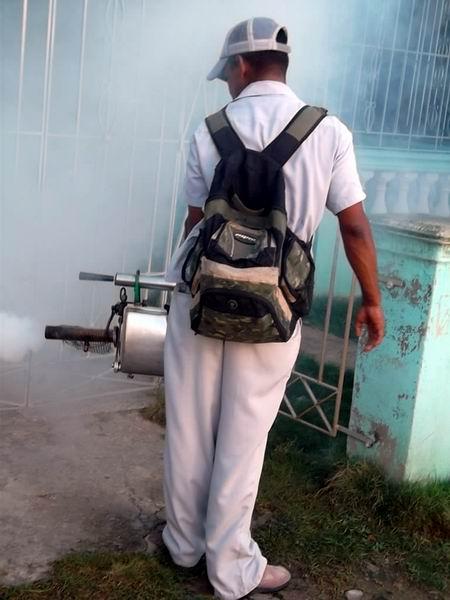Durante el ejercicio Meteoro 2013 se trabajó en la limpieza e higienización de barrios y comunidades