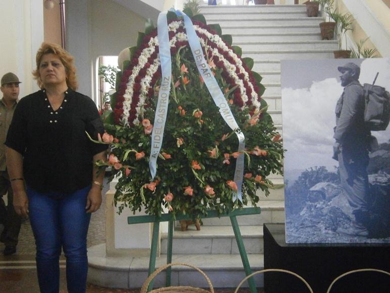 Pueblo cienfueguero invade las calles para homenajear a Fidel