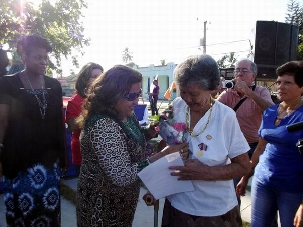 Homenaje a Ana Betancourt. Foto: Miozotis Fabelo