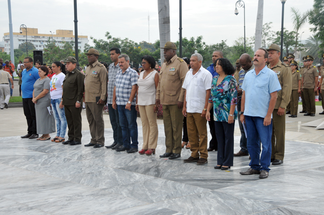 Homenaje del pueblo cubano a José Martí