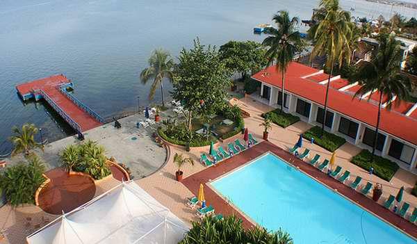 Hotel Jagua, piscina