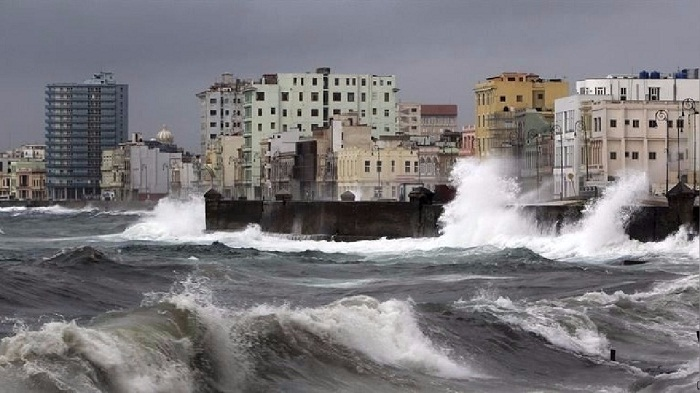 Cuba braces ahead of powerful storm, cold front