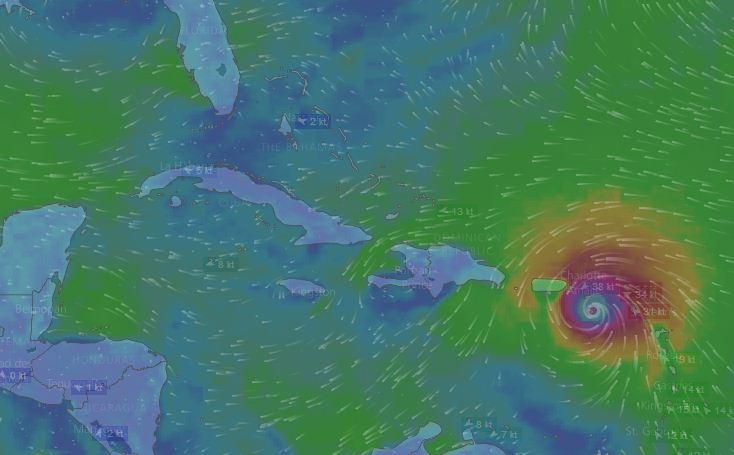 Nota de Alerta Temprana sobre el huracán María