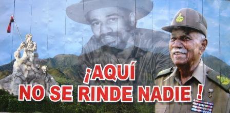 Permanente homenaje al Comandante Juan Almeida