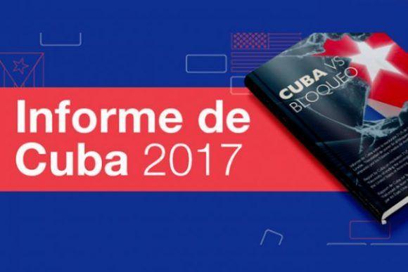 Disponible informe sobre las afectaciones del bloqueo a Cuba (+ PDF)