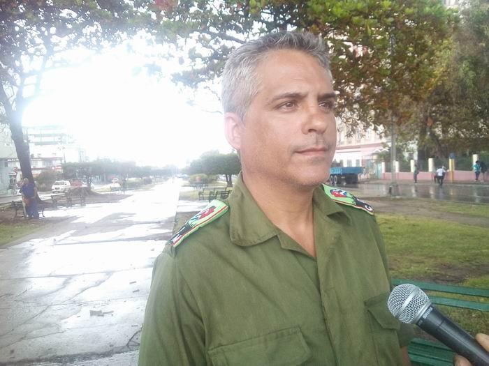 Jair Morales Rodríguez, Presidente del Consejo de Defensa Municipal de Plaza de la Revolución. Foto: Carlos Serpa