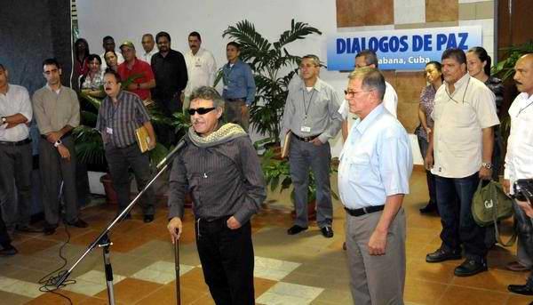 Avanza diálogo de paz entre el gobierno de Colombia y las FARC-EP