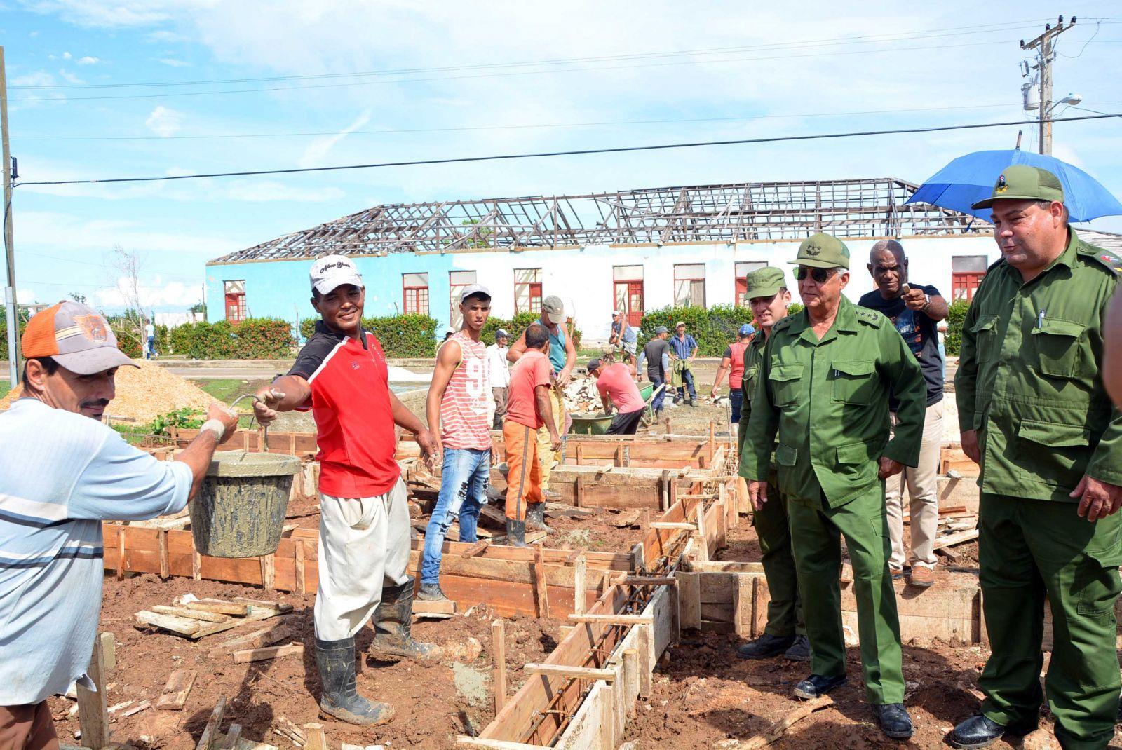 Verificó Quintas Solá en Punta Alegre recuperación de viviendas