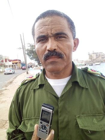 Jorge Luis Ramírez Santoya, presidente del Consejo de Defensa Municipal de Habana del Este