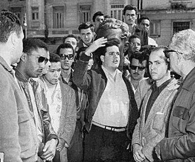 José Antonio Echeverría y sus compañeros