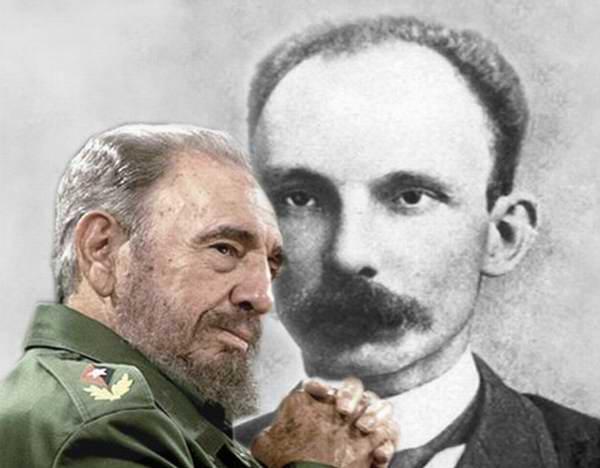 Homenaje de las mujeres cubanas a Fidel y a Martí