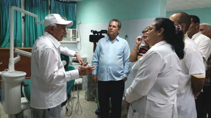 Visita Machado Ventura centros de interés económico Sancti Espíritus. Foto: Freddy Pérez Cabrera