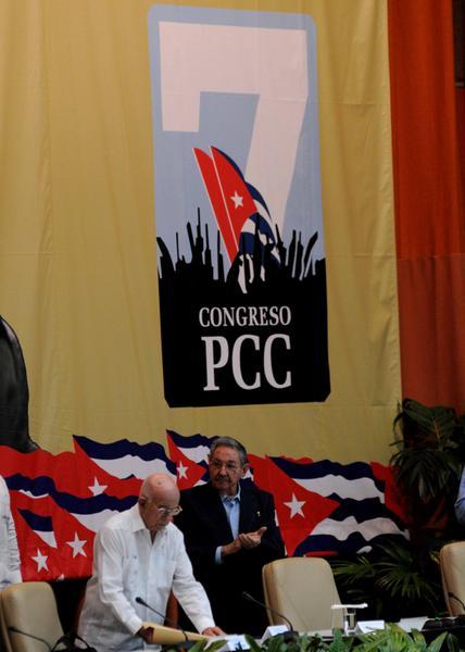 Comenzó el VII Congreso del Partido Comunista de Cuba. Foto: Omara García Mederos.