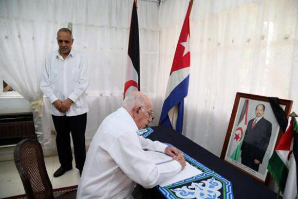 Vicepresidente de los Consejos de Estado y de Ministros, y Segundo Secretario del Comité Central del Partido Comunista de Cuba, José Ramón Machado Ventura.