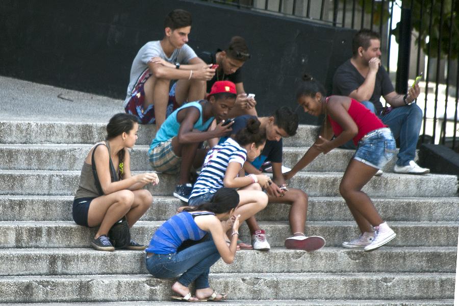 Reiteran en cita juvenil decisión de informatizar a la sociedad cubana. Foto: Faustino Delgado