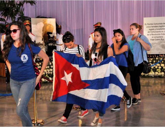 Fidel en la memoria del pueblo. Foto: Granma