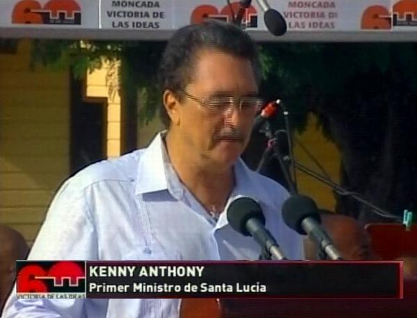 El ataque al Moncada representó una poderosa semilla que con el tiempo germinó, aseguró el primer ministro de Santa Lucía, Kenny Davis Anthony, durante el acto central por el Día de la Rebeldía Nacional