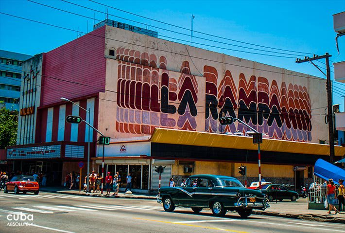The inseparable Rampa Section of Havana city