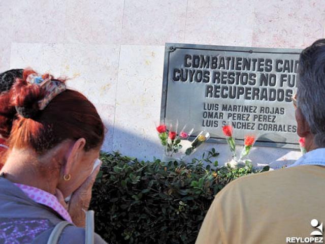 Tributo a Fidel, Maceo, Panchito y los internacionalistas caídos