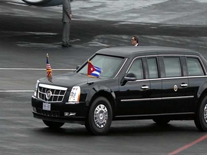 Presidente Barack Obama ya está en territorio cubano. Foto: Twitter Radio Rebelde