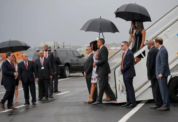 Presidente Barack Obama ya está en territorio cubano. Twitter Telesur