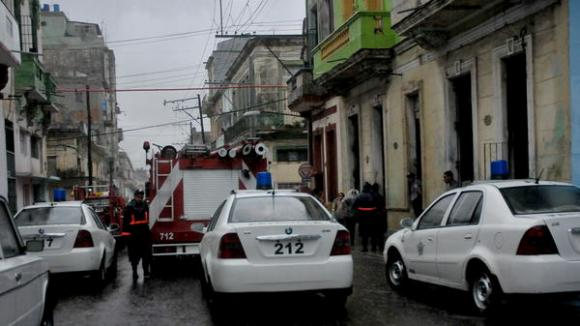 Nota Informativa de la Defensa Civil sobre intensas lluvias en La Habana