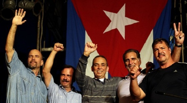 El abrazo de Cuba a los Cinco (+Audio y Fotos)