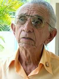 .- Luis Jesús López Boch, de 78 años de edad, guarda en la memoria lindas páginas de la historia de un revolucionario. Foto Mireya Ojeda