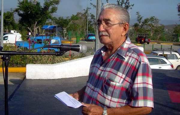 El combatiente Luis Manuel Copo, testigo de aquel vandálico hecho y quien defendió junto a sus compañeros la integridad de la Patria. Foto Sergio Martínez