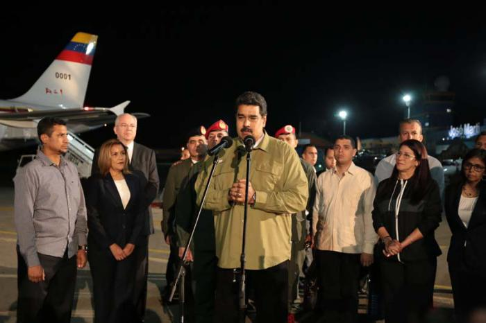 Venezuelan President Nicolas Maduro in Cuba to pay tribute to Fidel Castro