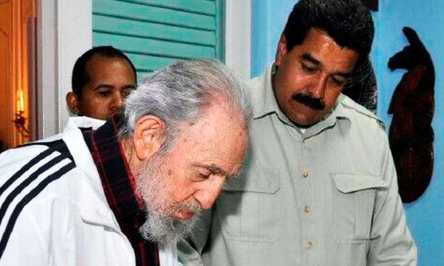 Envía Fidel Castro mensaje al Presidente Nicolás Maduro