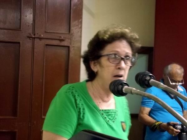 Ministra de la Industria Alimentaria y la Pesca, María del Carmen Concepción