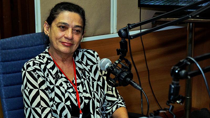Presidenta del Consejo Mundial de la Paz, Maria do Socorro Gomes.Foto: Sergei Montalvo