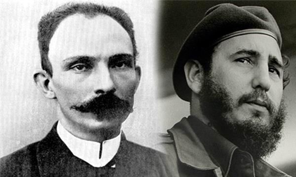 Martí y Fidel