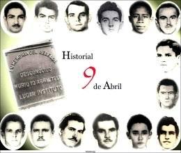 Huelga del 9 de abril: página de heroísmo