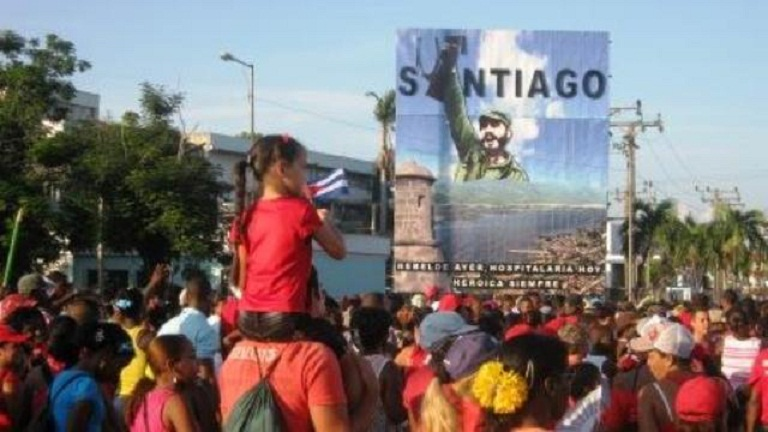 En Santiago de Cuba todos al desfile del Primero de Mayo