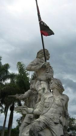 Monumento mausoleo en Tercer Frente Oriental, Mario Muñoz  Monroy. Foto: Carlos Sanabia