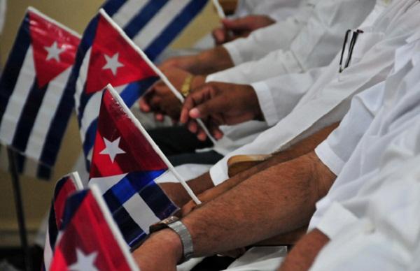 Envía mensaje de condolencia brigada médica cubana en Catar
